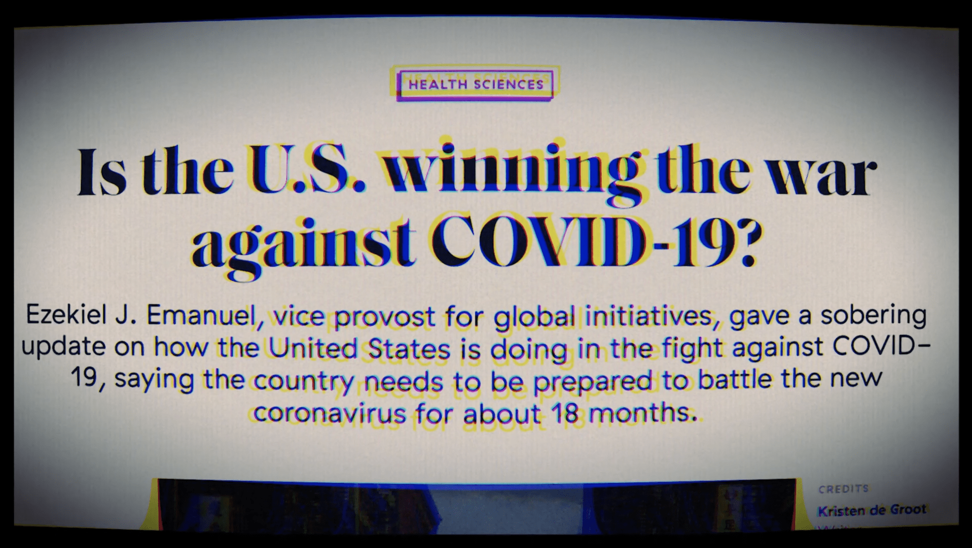 War against COVID-19