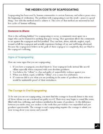 Scapegoating infograph p2