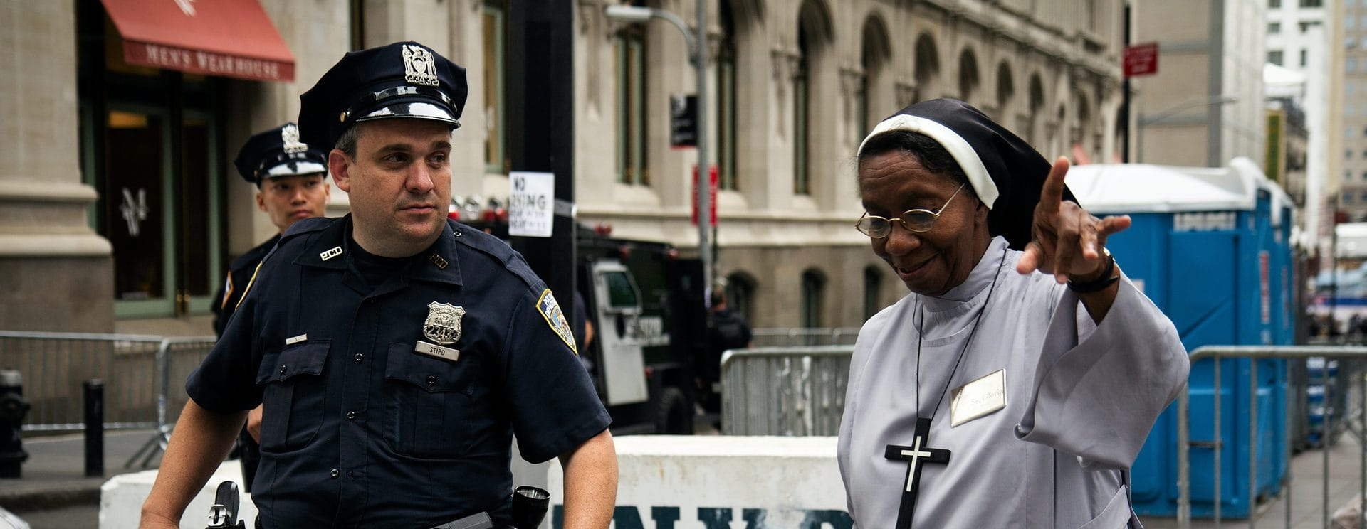 how would Jesus police
