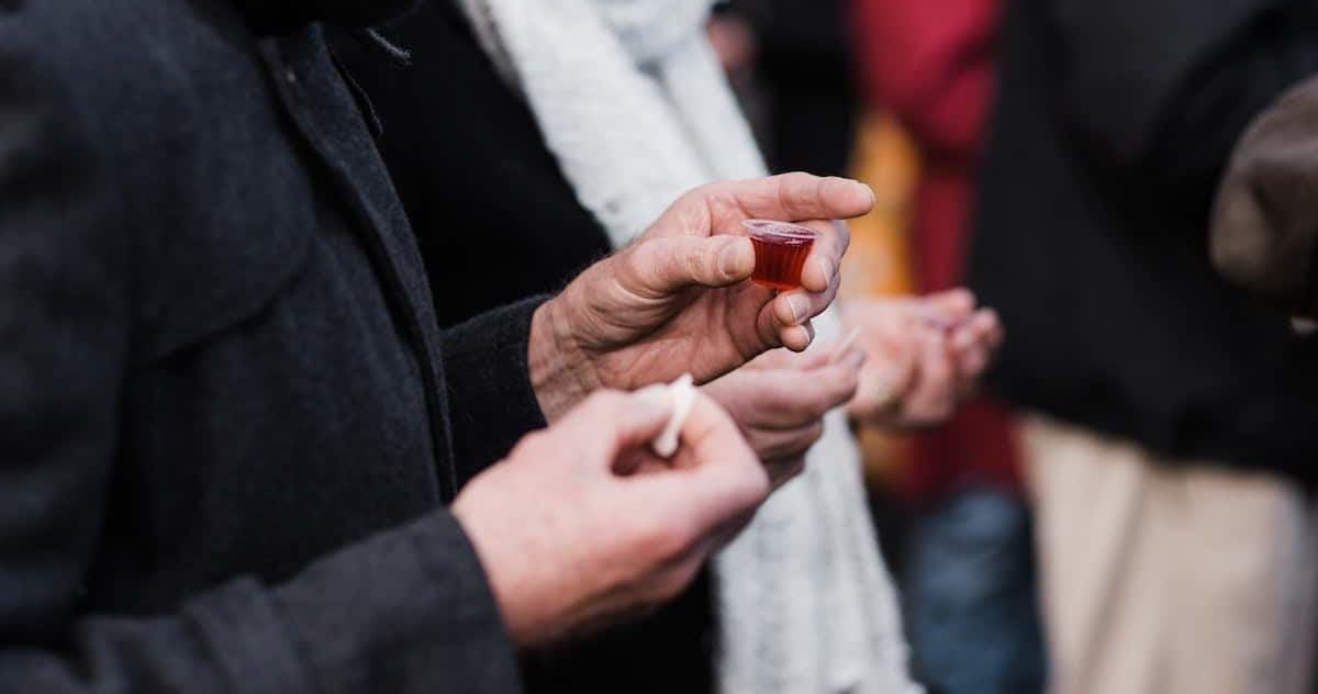 communion is anti-cannabilism